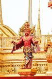 Garuda statue in park, Mythical creatures, Bangkok, Thailand 171105 0491. Garuda statue in park, Mythical creatures, Bangkok, Thailand royalty free stock photos