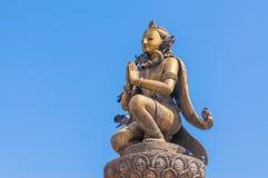 Garuda statue at Patan dubar square Royalty Free Stock Photography
