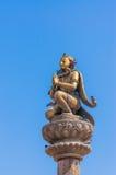 Garuda statue at Patan dubar square Royalty Free Stock Image