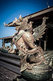 Garuda statue. In the temple Royalty Free Stock Photography