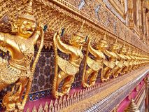 Garuda Statue in Wat Phra Kaew Royalty Free Stock Photos