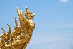 Garuda staty, Ubonratchathani landskap Thailand Fotografering för Bildbyråer