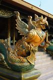 Garuda in temple. Of thailand Stock Images