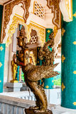 Garuda in Temple Thailand Stock Photo
