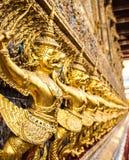 Garuda on temple wall Royalty Free Stock Image
