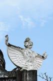 Garuda at temples Royalty Free Stock Image