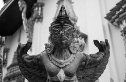 Garuda. Is true or not is not known, but the religious places in Thailand Royalty Free Stock Photos