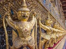 Garuda in Wat Phra Kaew Grand Palace della Tailandia Immagini Stock Libere da Diritti