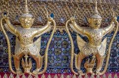 Garuda in Wat Phra Kaew Grand Palace della Tailandia Immagine Stock