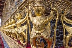 Garuda in Wat Phra Kaew Grand Palace della Tailandia Immagine Stock Libera da Diritti