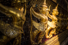 Garuda in Wat Phra Kaew Grand Palace of Thailand to find Royalty Free Stock Image