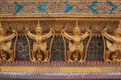 Garuda in Wat Phra Kaew, Temple of the Emerald Buddha, Grand Pal Royalty Free Stock Photos