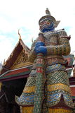 Garuda in Wat Phra Kaew, Temple of the Emerald Buddha, Grand Palace, Royalty Free Stock Images
