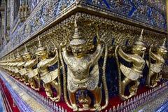 Garuda - Wat Phra Kaew or the Temple of the Emerald Buddha  - Thailand Stock Photo