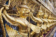 Garuda at Wat Phra Kaew Temple, Grand Palace, Bangkok, Thailand Stock Images