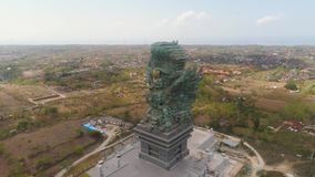 Garuda Wisnu Kencana Cultural Park Bali almacen de metraje de vídeo