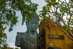 Garuda Wisnu Kencana Cultural Park, huge sculpture of Vishnu Statue. Bali. Indonesia. Royalty Free Stock Photography