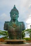 Garuda Wisnu Kencana Cultural Park, huge sculpture of Vishnu Statue. Bali. Indonesia. Royalty Free Stock Photo