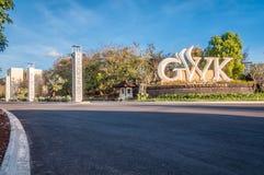 Garuda Wisnu Kencana Kulturalny park, Bali, Indonezja Zdjęcia Stock