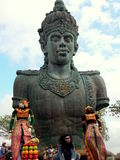 Garuda Wisnu Kencana kultureller Park Stockfotos