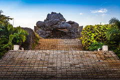 Garuda Wisnu Kencana kultureller Park Stockfoto
