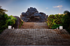 Garuda Wisnu Kencana kultureller Park Lizenzfreie Stockbilder