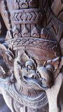 Garuda Wooden Stockbild