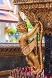 Garuda y Nagas Fotos de archivo