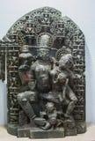 Garudadhari Lord Vishnu Idol India imagens de stock royalty free