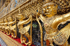 Garudas w Wacie Phra Kaew lub Uroczysty pałac, Bangkok Fotografia Stock