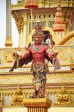 Garudastandbeeld in park, Mythische schepselen, Bangkok, Thailand royalty-vrije stock fotografie