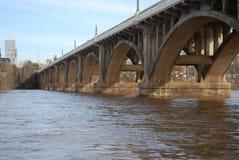 Garvis Street Bridge, Columbia, SC. Garvis Street Bridge, Columbia, South Carolina from the river walk Royalty Free Stock Photos