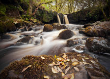 Garw Nant Waterfall Royalty Free Stock Image
