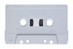 Gary audio cassette Royalty Free Stock Image