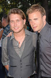 Gary Barlow, Mark Owen, Take That Stock Photos