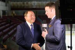 Gary Bettman NHL commissioner Royalty Free Stock Photos