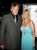 Gary Busey and Donna D'Errico Royalty Free Stock Photos