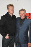 Gary Busey & Jake Busey Stock Photography