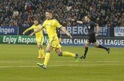 Gary Cahill FC Schalke v FC Chelsea 8eme Final Champion League Royalty Free Stock Photo