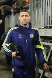 Gary Cahill FC Schalke v FC Chelsea 8eme Final Champion League Royalty Free Stock Photo