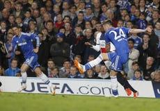 GARY CAHILL Joueur FC CHELSEA Arkivfoto