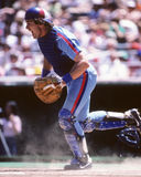 Gary Carter Montreal Expos. Former Montreal Expos catcher Gary Carter. (Scanned from color slide Stock Images