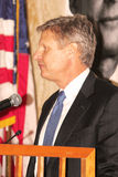 Gary Johnson - Presidential Candidate. Gary Johnson, former two term governor of New Mexico, announced that he will be seeking the 2012 Libertarian Party Stock Images