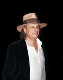 Gary Lucas bij een filmfestival Royalty-vrije Stock Foto's