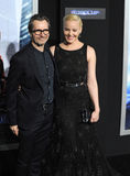 Gary Oldman & Abbie Cornish Royaltyfria Foton