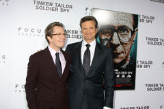 Gary Oldman, Gary. Oldman, Colin Firth Stock Photo