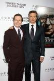 Gary. Oldman, Gary Oldman, Colin Firth Stock Image
