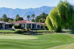 Gary Player Golf Course, Rancho Mirage fotografia stock libera da diritti