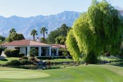 Gary Player Golf Course, Rancho Mirage fotografie stock libere da diritti