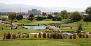 Gary Player Signature Golf Course Stock Photos